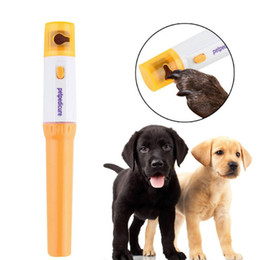 Électrique Pet Pattes Nail Grinder Trimmer Clipper Chien Chats Toilettage Meulage Indolore Portable En Plastique Nail File Kit Drop Shipping ? partir de fabricateur