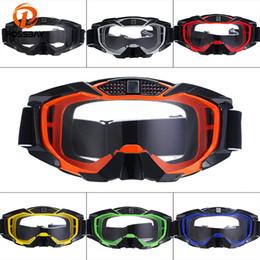 café gläser Rabatt POSSBAY Mode Outdoor Winddicht Ski Brille Cafe Racer Motocross Brille Staubdicht Schnee Gafas Gläser Riot Control Sonnenbrille