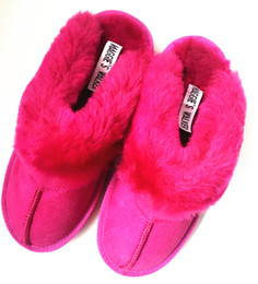 Wholesale Hair Sheep Leather - Maggie's Walker Unisex Fashion Sheep Fur Slippers Women Winter Warm Sheep Hair Indoor Sandals Men Winter Slippers Size 35~44
