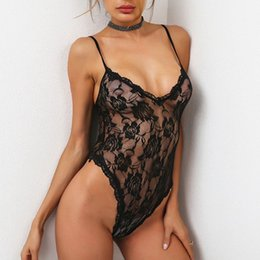 Wholesale Erotic For Men - Hot Erotic Sexy Lingerie Adult Product Porn Sexo Lenceria Sexy Costumes Underwear Pajamas Teddy For Women Lace Porno Babydoll