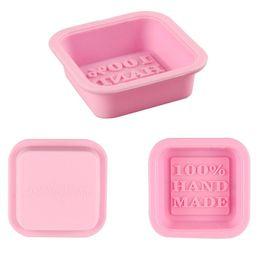 Stampi di sapone fatti a mano al 100% Stampi in silicone quadrati fai da te cheap make molds da fare stampi fornitori