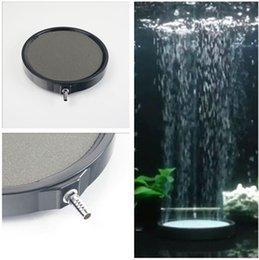 Wholesale ceramic fish - 4cm - 20cm Large Aquarium Ceramic Disc Airstone Diffuser Koi Fish Tank Air Bubble Stones Aerator Pump Accessories