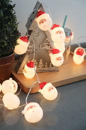 La decorazione della camera da letto delle stringhe del Babbo Natale delle stringhe di Natale di Santa Claus LED mette in mostra i regali di festa DHL libera il trasporto da