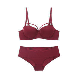 03ef76deff86c Ysandrenne NEW Women Push Up Lace Bra and Briefs Everyday Bra Sets Lace-trim  Plunge Demi Sexy Hollow Out Back Underwear