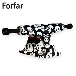 Forfar Forfar 2pcs Skeleton Turbo Tablero largo Monopatín 5