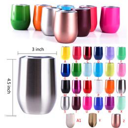 Deutschland 12oz Edelstahl Tumbler Vakuum isoliert Kaffee Thermos Becher 6oz Kinder Tasse Travel Cups 26 Farben Versorgung