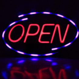 2019 outdoor led open signs Design personalizado Acrílico Ao Ar Livre Sinais Eletrônicos bar sinal de néon aberto placa de publicidade sinal aberto levou sinal aberto outdoor led open signs barato