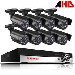 видео ahd Скидка 8CH 1080P HDMI выход DVR AHD CCTV камеры системы 2.0 MP открытый водонепроницаемый камеры P2P домашней безопасности видеонаблюдения комплект ИК