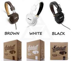 Sıcak Marshall Major kulaklıklar Mic Ile Derin Bas DJ Hi-Fi Kulaklık HiFi Kulaklık Profesyonel DJ Monitör aşırı kulak Kulaklık nereden