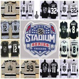 f13572914 2014 Stadium Series LA Kings Hockey Jerseys 12 Marian Gaborik 32 Jonathan  Quick 11 Anze Kopitar Drew Doughty 99 Wayne Gretzky Stitche Jersey