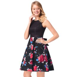 Wholesale Printer Specials - Printer Party Dresses 3 Colors Real In stock Cocktail Dresses Special Occasion Dresses Short Prom Gowns