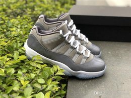 Wholesale Real Table - Hot 2019 Low Cool Grey 11 11S Basketball Shoes Sneakers For Men Authentic Real Carbon Fiber 528895-003 With Original box 40-47.5