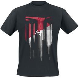 Sudadera con capucha de ojos rojos online-Afi Red Eyes camiseta negra con capucha hip hop camiseta chaqueta croacia cuero camiseta denim ropa camiseta? Camiseta