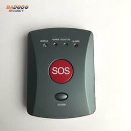 Système d'alarme anti-effraction GSM / alarme personnelle / alarme de soins aux personnes âgées / Aide SOS plus ancienne ? partir de fabricateur