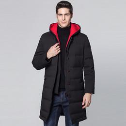 22c4aa4d1cc Winter Jacket Men Clothes White Duck Down Jacket Men Parka Long Hooded  Thick Warm Down Coat Parkas Mens Clothing 2018 ZT479