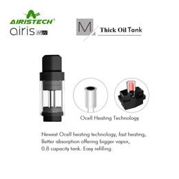 Wholesale Wholesale Pods - Authentic Airis MW Cartridge 0.8ml M-Thick Oil Tank W-Wax Pod Foe Original Airistech Vape Pod Pen kits 100% Genuine 2253021