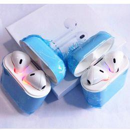 2018 Nuevos Auriculares Inalámbricos Bluetooth Auriculares I8 TWS con Caja de Carga Sport Twins Auriculares Auriculares Auriculares In-ear Micrófono de Mano PK I7S Ifans desde fabricantes