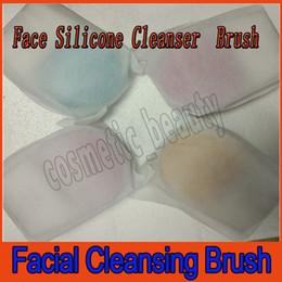 Argentina Mini 2 Cepillo de limpieza facial eléctrico Limpiador de silicona Máquina de masaje vibrante Poro Limpieza Pincel de maquillaje Cara Cuidado de la piel Masajeador Spa Suministro