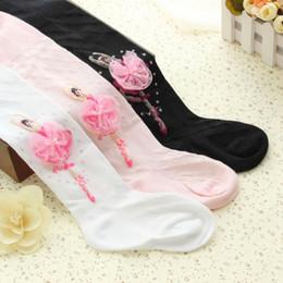 Wholesale White Ballet Socks - Fashion girl pants baby girl leggings comfortable cotton ballet dancing girl kids sock toddler leggings socks tights
