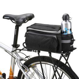 ROSWHEEL Bicycle Carrier Bag 13L Rack Trunk Bike Luggage Back Seat Pannier Outdoor Cycling Storage Handbag Shoulder Strip 14024 от