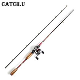 Wholesale Foot Cast - 1.8M 2.1M 10-25g Test Adjustable Size Carbon Lure Casting Rod rod spinning fishing