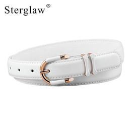0b66b9589 Moda ampla cinto de couro pu feminino cintos de metal quadrado pino fivela  cintos para as mulheres calças de brim cinto cintura lady cintos n149  desconto ...