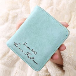 Wholesale Free Money Credit Card - Casual Designer Wallets Lady Fashion Wallets 11 Colors Available PU Credit Card Holder Money Bag Free Shipping