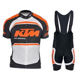 KTM MTB bisiklet Erkekler Bisiklet Jersey Kısa Kollu Set pro team Üst Marka Bisiklet Giyim açık spor bisiklet gömlek yaz Maillot Ciclismo cheap bicycle brand shirt nereden bisiklet marka gömlek tedarikçiler