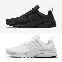 Wholesale Casual Canvas Shoes Womens - Classic Air Presto Tripel Black White Mens Womens Running Shoes Casual Designer Sneakers With Box Size 36-46