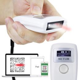 varredura de iluminação Desconto NTEUM Barcode Scanner Handheld Sem Fio Bluetooth Luz Vermelha CCD Scanner Suporte One-Dimension Scanning Inteligente Decod Frete Grátis NB