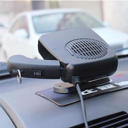 12 V Voiture Ventilateur De Chauffage Auto Véhicule Portable Chauffage Électrique Ventilateur Defroster Pare-Brise Demister Chaud Chaud Climatiseur Noir Bleu ? partir de fabricateur