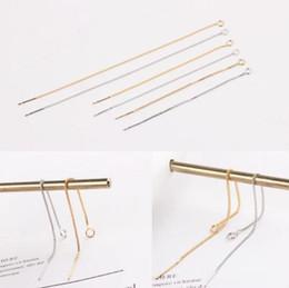 Brincos de moda orelhas on-line-Brincos de grife acessórios linha de orelha DIY brincos cadeia fina simples clássico moda quente livre de transporte