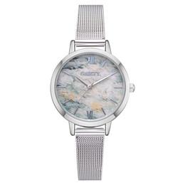 Relógios pulseira vintage on-line-Chegam novas Mulher Moda Liga Banda Analógico de Quartzo Rodada Relógio de Pulso Do Vintage Lady Designer reloj mujer Pulseira Relógios Femininos