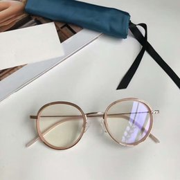 92c255023b Mujeres Rose Gold Optical Round Glasses Eyeglasses Frames 47mm 20301 Eyewear  New with Box marco redondo de cristal para las mujeres en venta