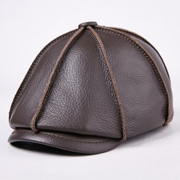 dd7170316ec Wholesale leather caps hats for sale - Women Men Fashion Berets Autumn  Winter Designer Brand Luxury