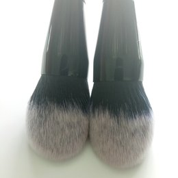 Wholesale goat big - Hot!! High Quality Soft Powder Brushes Makeup Brushes Blush Golden Big Size Foundation Comestic Tools DHL Free Shipping