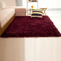 Canada NK DECORATION 60 * 120 cm / 80 * 120 cm / 120 * 160 cm Soild Tapis Chambre Décoration Tapis De Sol Tapis Chaud Coloré Salon Tapis supplier bedroom door decorations Offre