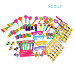 school toy bag for boys Promo Codes - 60PCS-3 Toys for Kids Party Favors Supplies Girl Boy Birthday Gift Bags Pinata Fillers School Rewards by Amy&Benton