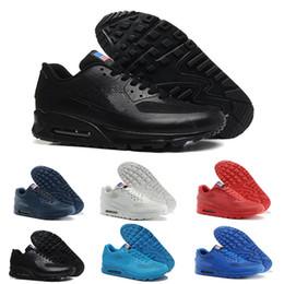 c61de7d2fd6 Nike Air Max 1 87 90 AirMax 2018 American Flag HYP PRM QS Chaussures hommes 90  Tênis de corrida Venda Online Moda Dia da Independência Zapatillas EUA ...