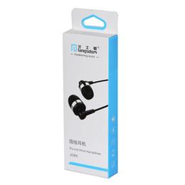 Câble sumsung en Ligne-Gros Langsdom JD89 Forte Tension In-Ear Écouteurs Isolant Du Bruit Hifi Métal Casque Avec Micro Pour Iphone6 Sumsung S7 S6 Note5