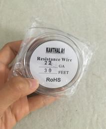 Youde UD Alambre de Kanthal A1 AWG20 0,8mm 10m bobinas RDA RTA RBA RDTA atomizador Calefacci/ón