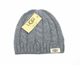 U шляпы онлайн-мужская женская зимняя шапочка мужская шляпа случайные вязаные колпачки шляпы мужские спортивные колпачки черные серо-белые хаки высокие крышки качества U-20-124