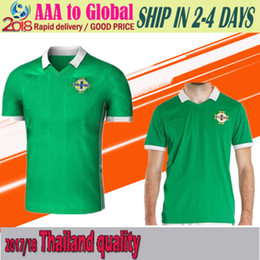 Wholesale K L - New 2018 Northern ireland world cup Jersey McNAIR home green away white K LAFFERTY DAVIS thai quality Northern ireland soccer Jersey