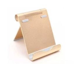 Canada Nouveau Multi-Angle Support Portable Stand Support E-lecteurs Smartphones Durable Support en aluminium pour regarder des vidéos Tablettes 7-10 pouces boîte au détail Offre