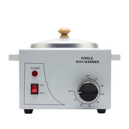Wholesale wax pots - Wax Warmer Epilator Single Pot Paraffin Heater Warmer Depilatory Machine Wax Therapy Instrument Hair Removal Depilation