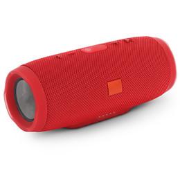 Radio pour la maison en Ligne-Haut-parleur à dents bleues résistant aux éclaboussures Haut-parleur bluetooth enfichable JBL charge3 Radio portable à double diaphragme sans frais de port