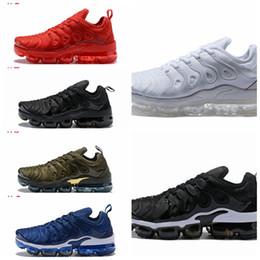 285ea07309e nike royal Desconto Nike 2018 vapormax TN Plus Mens Designer Calçados VM  Olive Em Metálico Branco