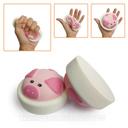 Wholesale New Bun - Squishy Buns Pig Toast New Squishies Toys Jumbo Slow Rising Spicy Soft DHL Free Shipping SQU039