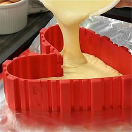 surface chaude du gant Promotion DIY moule à cake en silicone outils de cuisson gâteau moule cuisson serpent magique accessoires de cuisine livraison gratuite