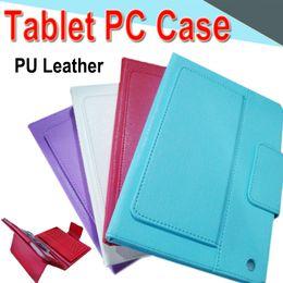 Canada 10 pouces Bluetooth clavier PU étui en cuir avec support de support intégré carte à boucle en cuir étui en cuir pour mini2 Tablet PC EXPT 100 Packs cheap bluetooth keyboard stand for ipad Offre